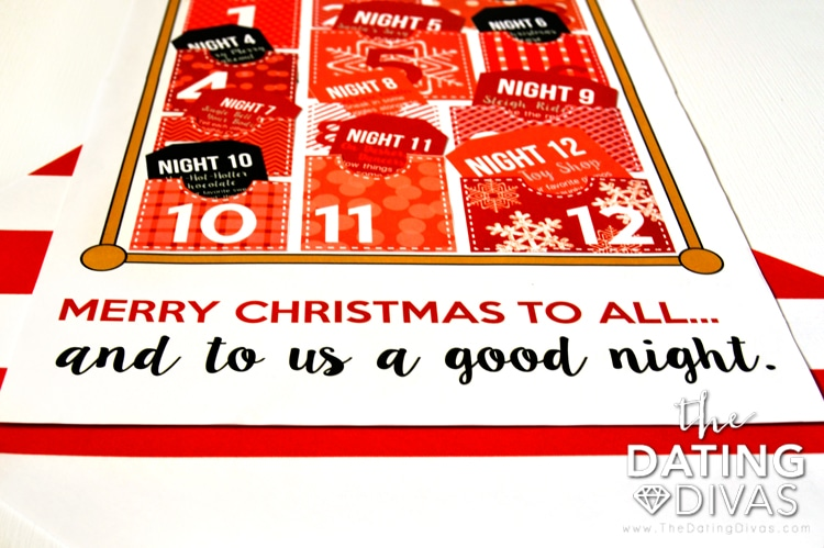 12 Sexy Nights of Christmas Bed