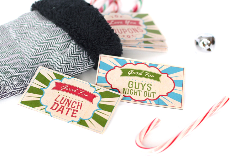 Christmas Coupon Book Gift Idea