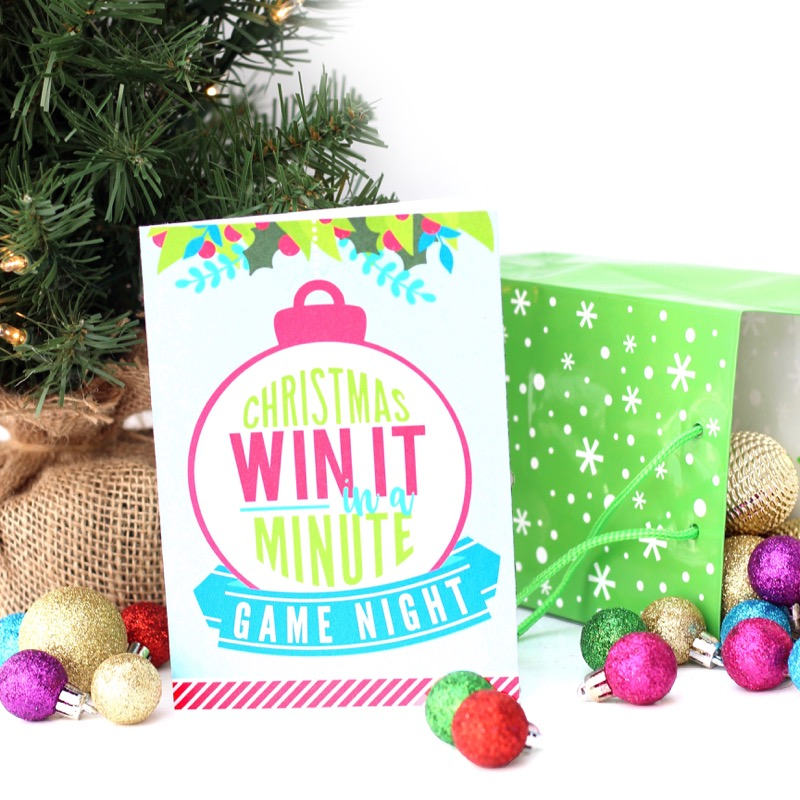win it in a minute christmas games the dating divas