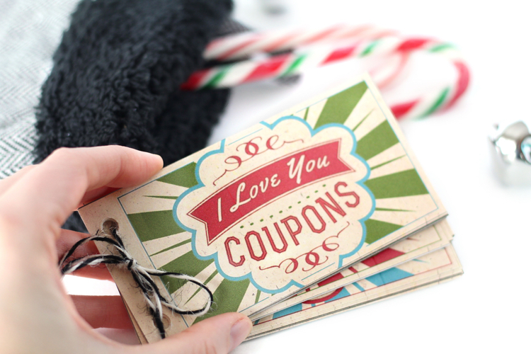 I Love You Christmas Coupons