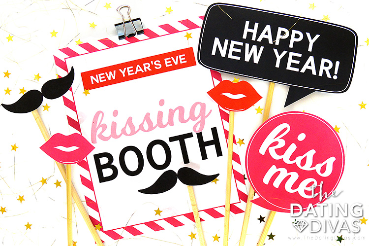 New Year's Eve Makeout Party Photo Booth