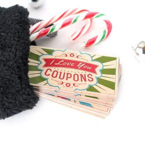Stocking Stuffer Coupon Book