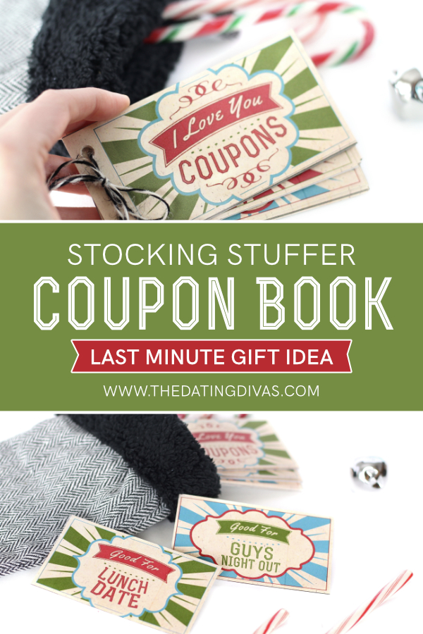 The Perfect Stocking Stuffer Coupons Gift Idea #ChristmasGiftIdea #TheDatingDivas #DIYCouponBook