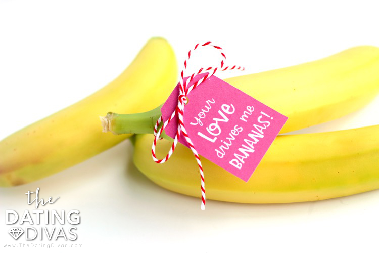 Bananas Valentine Love Notes