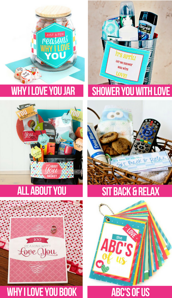 Free Love Notes Gift Ideas collage