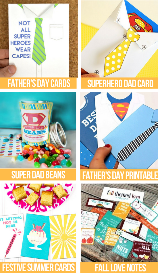 love notes for fathers day photo collage