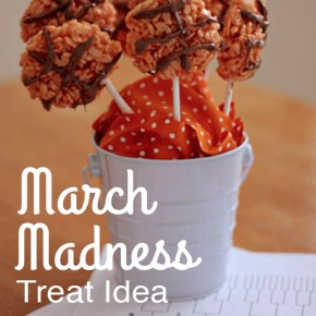March Madness Treat Idea