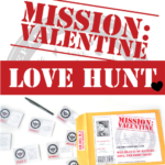 Mission: Valentine's Day Scavenger Hunt