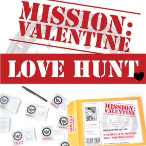 Mission Valentine Scavenger Hunt with Missions