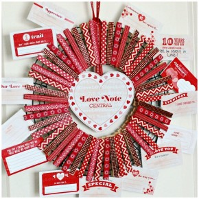 Valentine-Countdown-Clothespin-Wreath-tutorial
