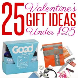 collage of cheap Valentine Gift Ideas