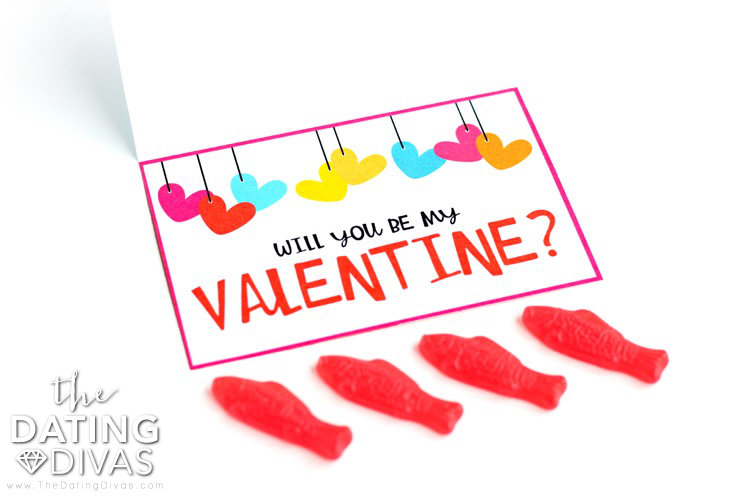 Will You Be My Valentine? Love Note