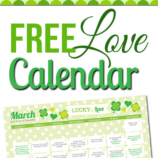 May Love Calendar - The Dating Divas