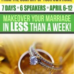 Marriage Makeover Conference – WIN A Pass!