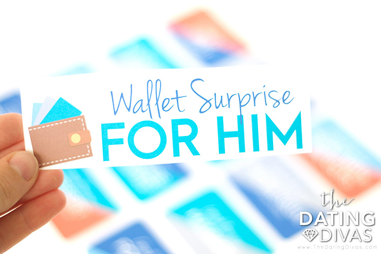 Wallet Surprise for Him