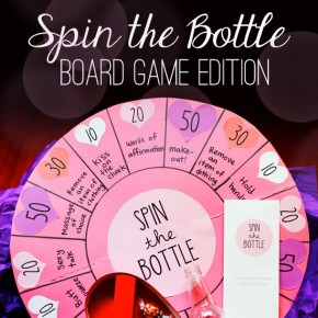 Sexy Spin the Bottle Board Game