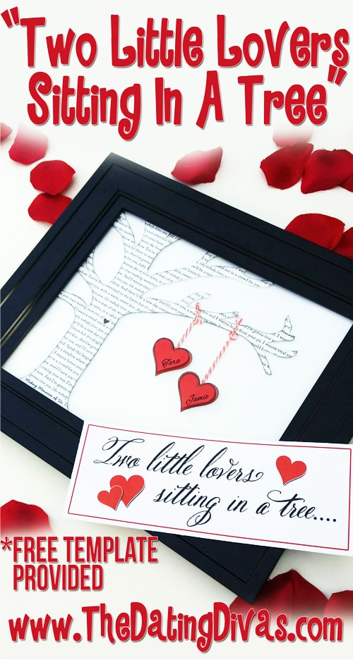 Valentine's day wall decor by The dating divas