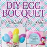 Love Note Easter Egg Bouquet