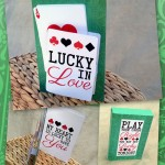 DIY Lucky in Love Card