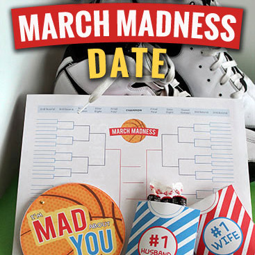 March madness dates