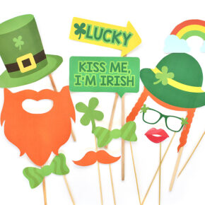 St. Patrick's Day Photo Booth Printables
