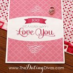 """100 Reasons Why I Love You"" DIY Book"