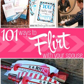 101 Ways to Flirt With Your Spouse