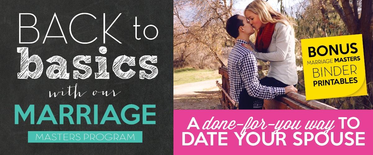 Marriage Masters Program