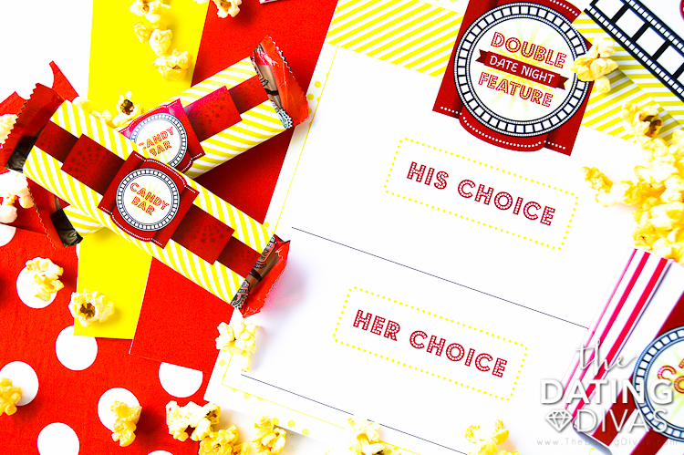 Double Feature Movie Choice Printable