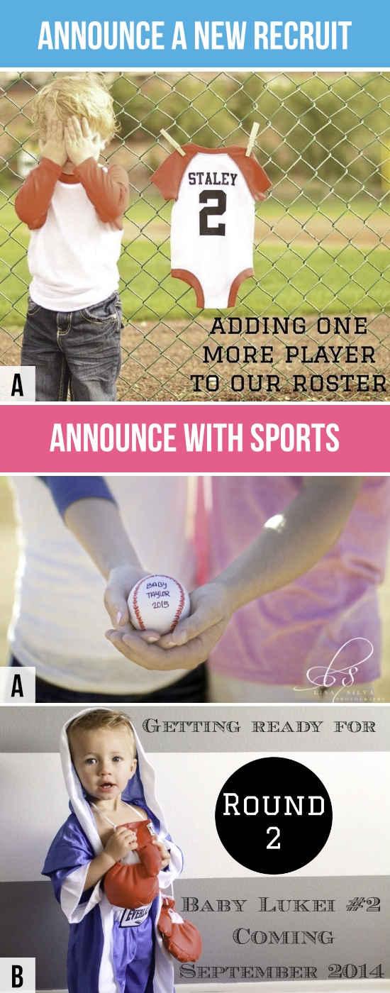Pregnancy Announcements Sports