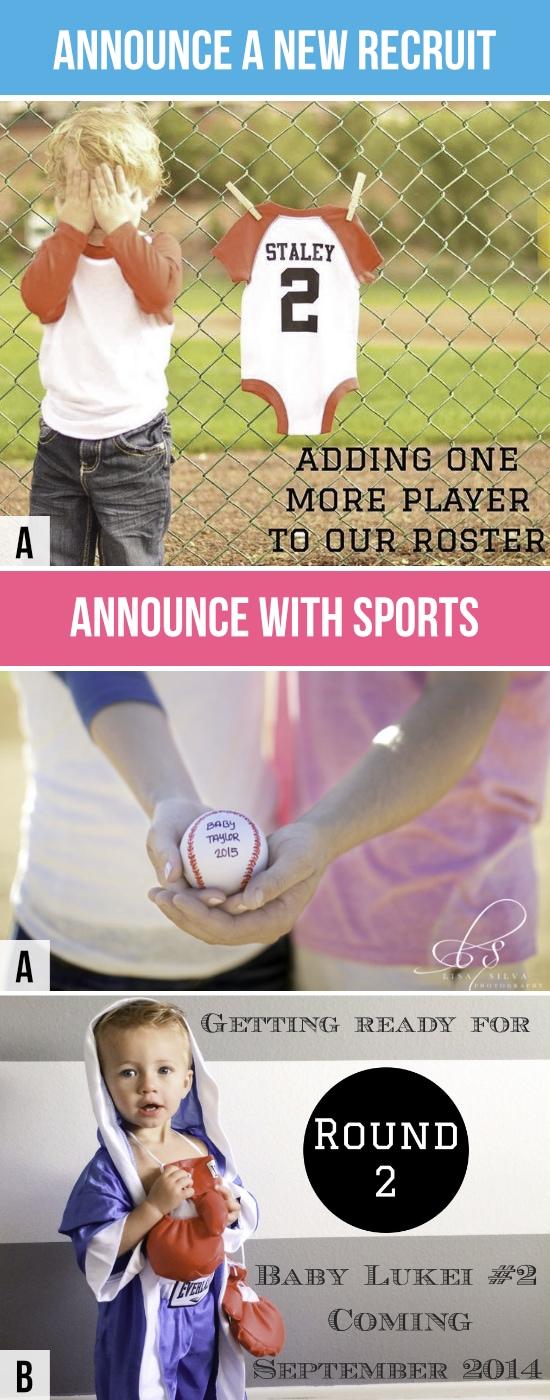 Pregnancy Announcements Sports