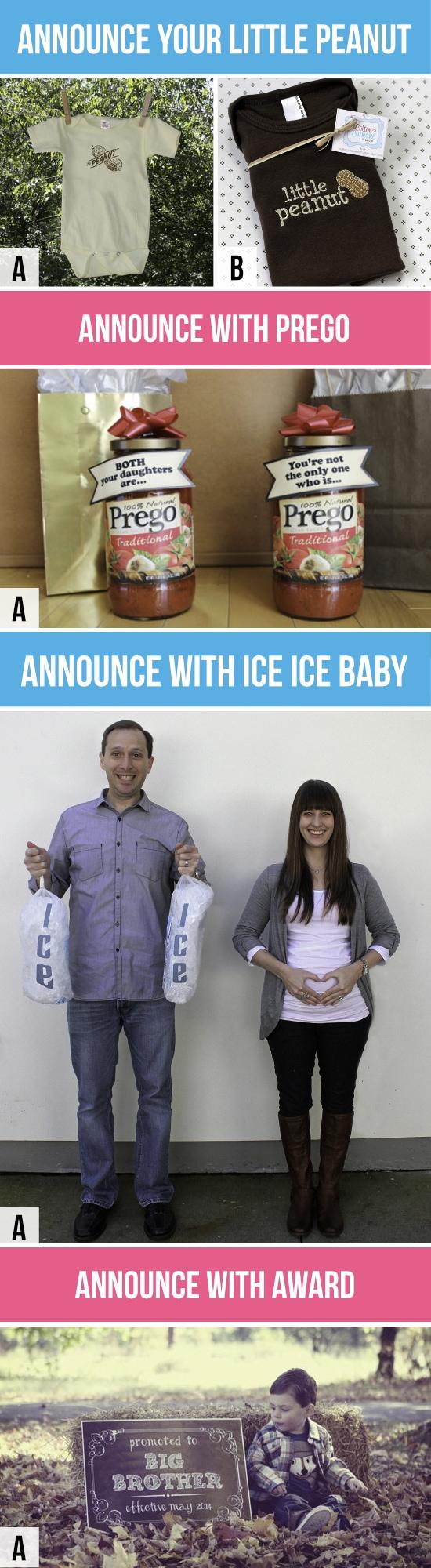 Fun Pregnancy Announcements
