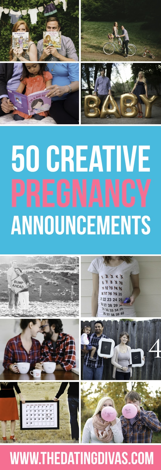 50 Creative Pregnancy Announcments