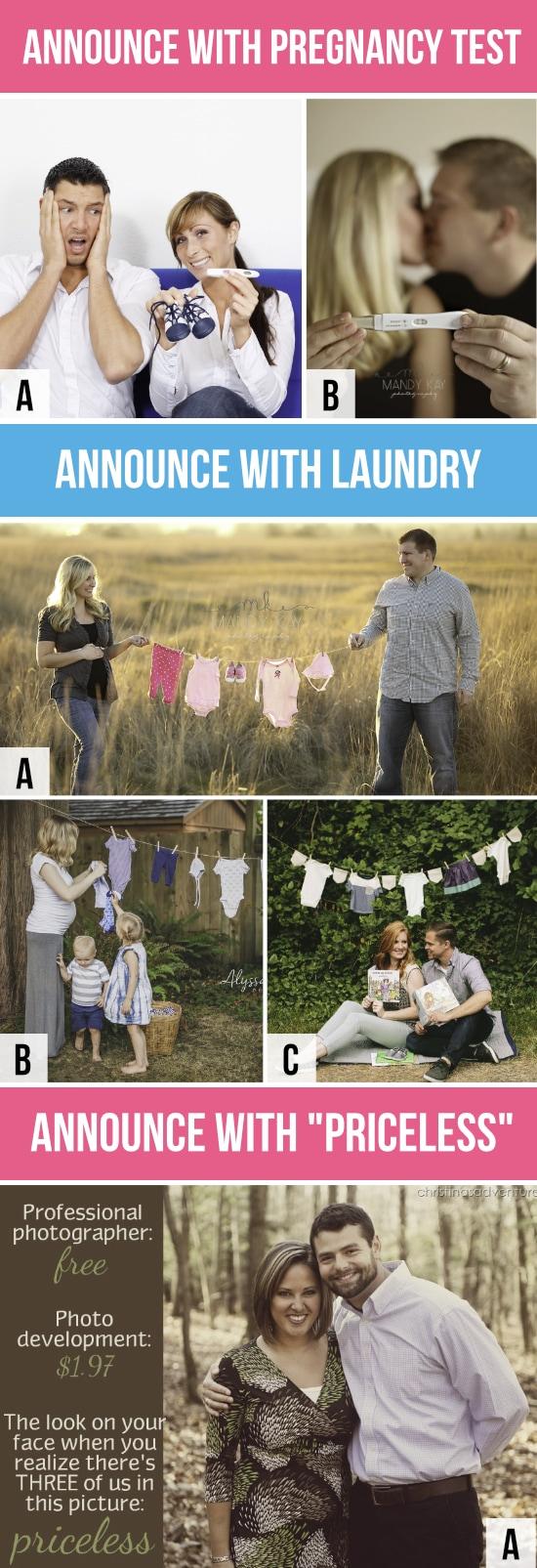 Pregnancy Announcement Test
