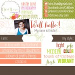 Introducing: Kristin of CdotLove!