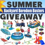 Backyard Boredom Busters Giveaway