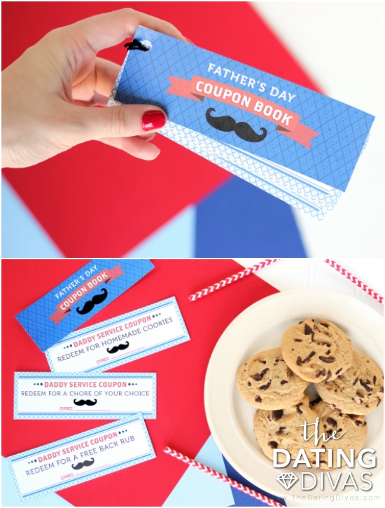 Happy Father's Day Coupons Printable Book