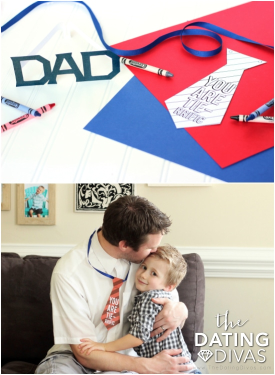 Happy Fathers Day Printable Props