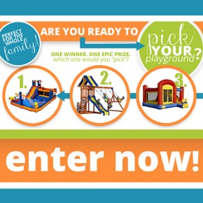 Pick Your Playground Pinterest Giveaway