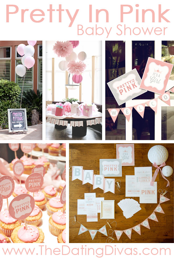 baby shower themes for girls   printables