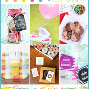 101 Birthday Ideas for Friends 001 Blog Hop