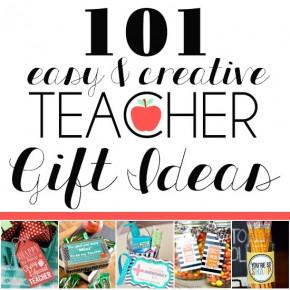 101 Easy Teacher Gift Ideas from The Dating Divas