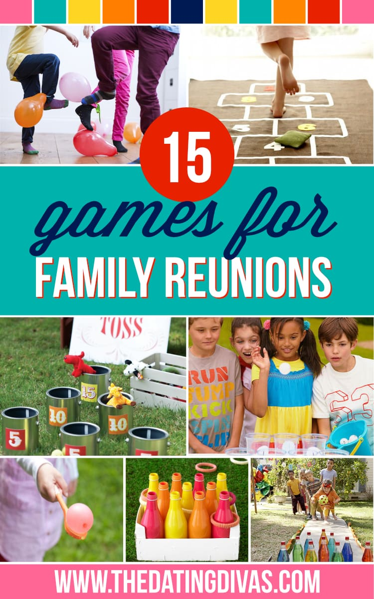 "family reunion Family reunion games are a must-have element of family reunion planning without some good games in the mix, you will certainly finding the kids saying the dreaded words ""i'm bored"" thinking up games that will entertain everyone in your family may not be the easiest task you'll undertake, so here's a super big list of [."