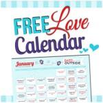 January 2015 Love Calendar