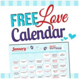 2015 January Love Calendar