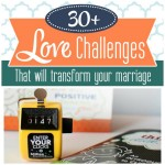 30+ Marriage Love Challenges