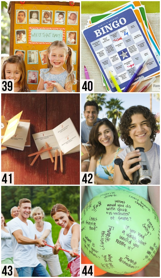 Get to Know Your Family Games