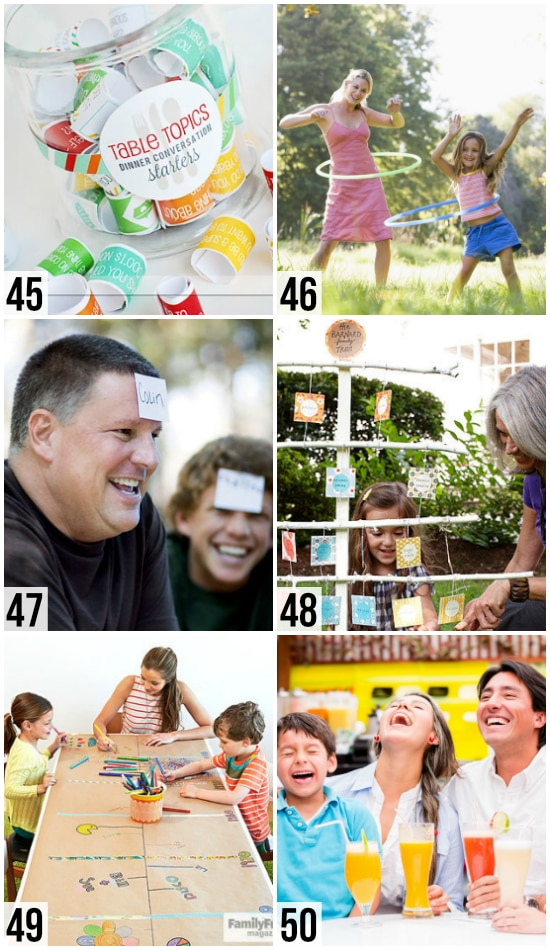 Family Reunion Ideas to Build Togetherness
