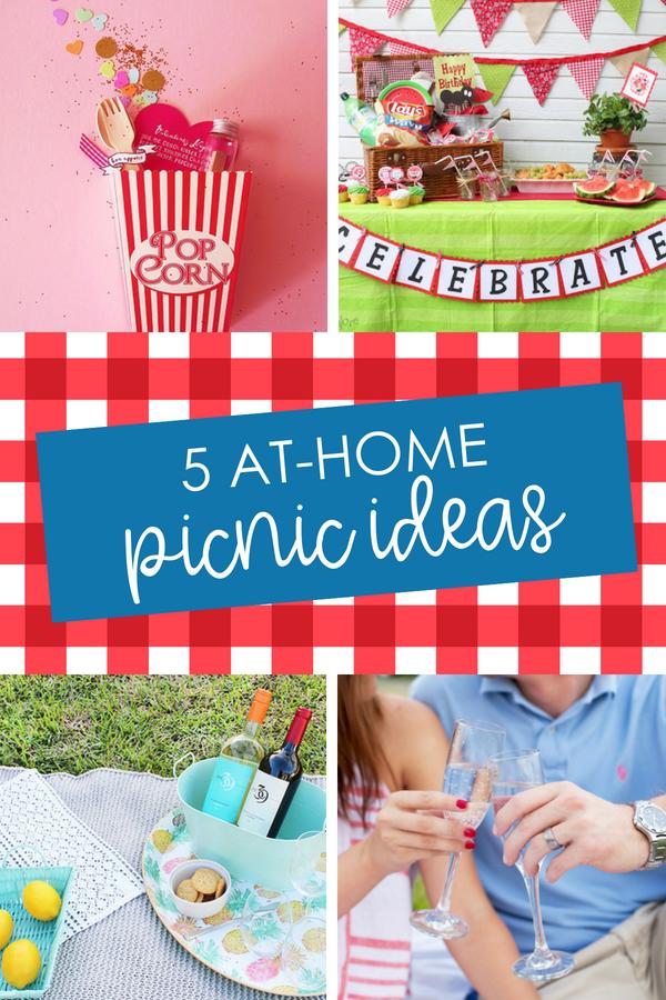 At Home Picnic Ideas