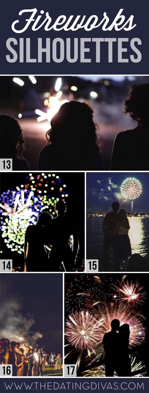 Firework Silhouettes